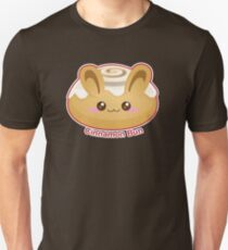 Punny Brötchen: Cute Cinnamon Bun Slim Fit T-Shirt