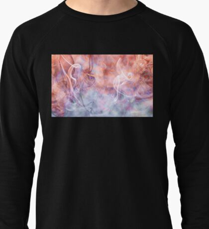 Smoke Vapor Phosphene - Abstract Art Lightweight Sweatshirt