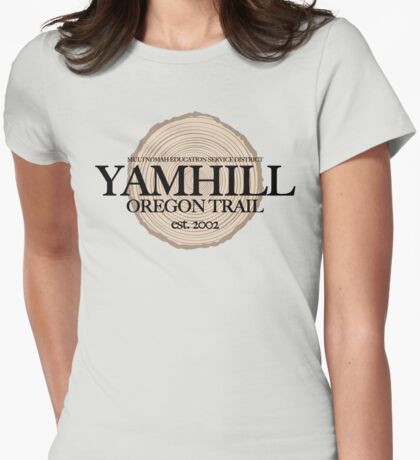 Yamhill Oregon Trail (fcb) T-Shirt