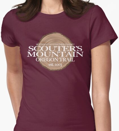 Scouter's Mountain Oregon Trail (fcw) T-Shirt
