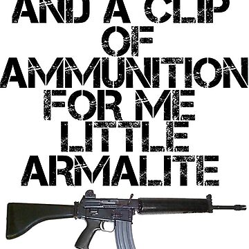 Me little Armalite by CaptainRouge