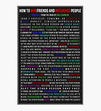 How to Win Friends and Influence People Photographic Print