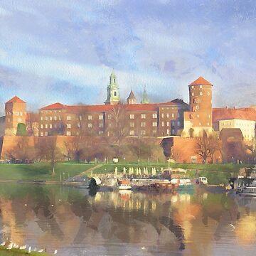 Krakow castle by FrinK