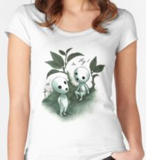 Natural History - Forest Spirit studies Women's Fitted Scoop T-Shirt