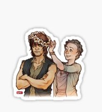 TWD_daryl and carol Sticker