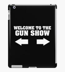 gun show iPad Case/Skin
