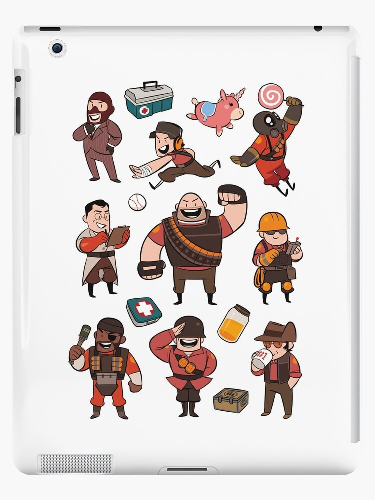 Team Fortress 2 SD All Class iphone case