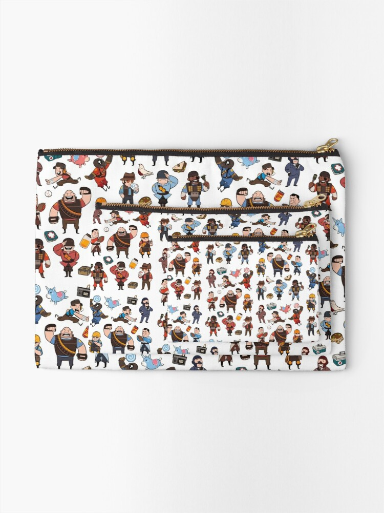 Alternate view of Team Fortress 2 / RED,BLU All Class(pattern) Zipper Pouch
