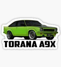Holden Torana - A9X Hatchback - Green Sticker