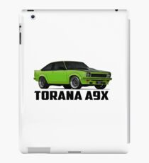 Holden Torana - A9X Hatchback - Green iPad Case/Skin