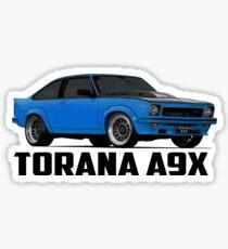 Holden Torana - A9X Hatchback - Blue Sticker