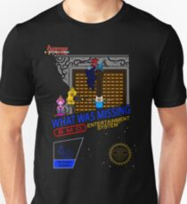 NINTENDO: NES ADVENTURE TIME  T-Shirt