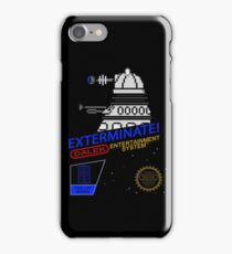 NINTENDO: NES EXTERMINATE! iPhone Case/Skin