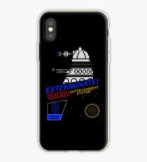 NINTENDO: NES EXTERMINATE! iPhone Case