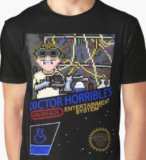 NINTENDO: NES DOCTOR HORRIBLE  Graphic T-Shirt