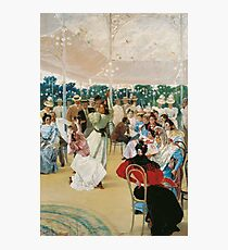 Julio Romero de Torres - The Cordoba Fair . Romance  Photographic Print