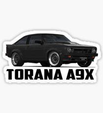 Holden Torana - A9X Hatchback - Black Sticker