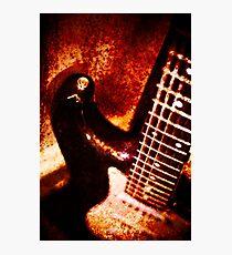 Grunge strat Photographic Print