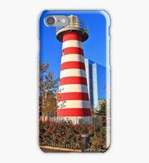 Lefrak point Lighthouse Jersey City NJ iPhone Case/Skin