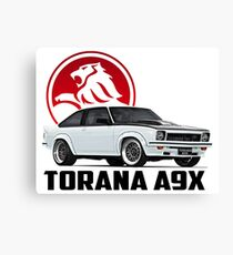 Holden Torana - A9X Hatchback - White 2 Canvas Print