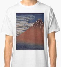 Katsushika Hokusai - Japanese Landscape . Rock Classic T-Shirt