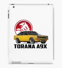 Holden Torana - A9X Hatchback - Yellow 2 iPad Case/Skin