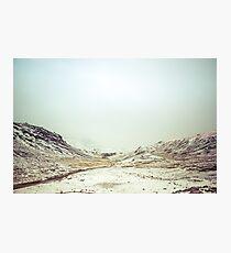 Winter Valley Photographic Print