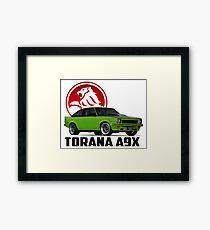 Holden Torana - A9X Hatchback -  Green 2 Framed Print