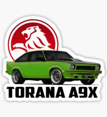 Holden Torana - A9X Hatchback -  Green 2 Sticker