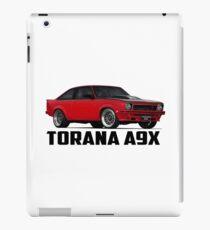 Holden Torana - A9X Hatchback - Red iPad Case/Skin