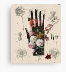 Flowers handmade Canvas Print