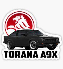 Holden Torana - A9X Hatchback - Black 2 Sticker