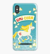 Unicorn on the cob iPhone Case/Skin