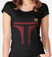 Star Wars - Destroyed Boba Fett Women's Fitted Scoop T-Shirt