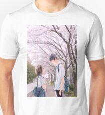 Love under the Sakura trees Unisex T-Shirt