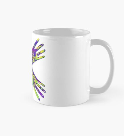 #DeepDream Painter's gloves 5x5K v1456325888 Mug