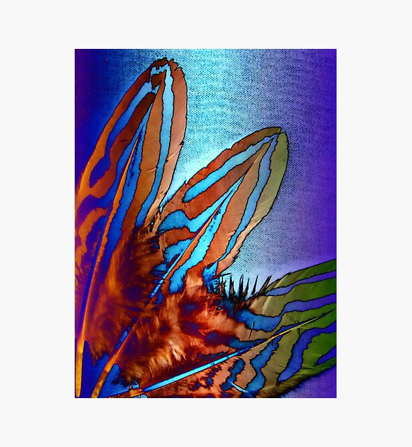 Federleicht - Feather light part IV metallic von Marion Waschk