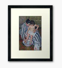 Mary Cassatt - The Child s Bath 1893 Framed Print