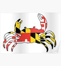 Maryland Crab Poster
