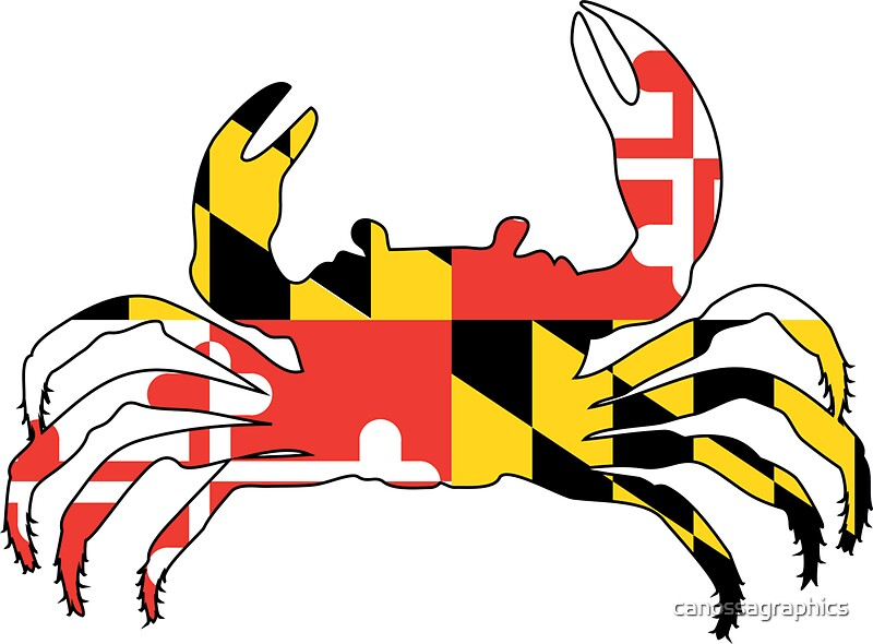 Maryland crab by canossagraphics
