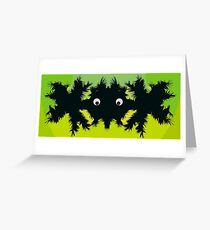 Weird parasite -colored edition Greeting Card