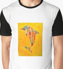 Happy Dolphin 3 Graphic T-Shirt