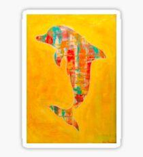 Happy Dolphin 3 Sticker