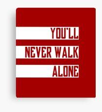 You'll never walk alone - ultras Canvas Print