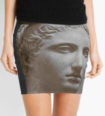 Minifalda Mercury head stone sculpture