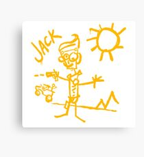 Doodle Jack - Borderlands Canvas Print