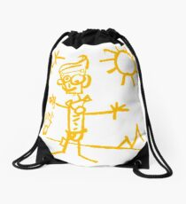 Doodle Jack - Borderlands Drawstring Bag