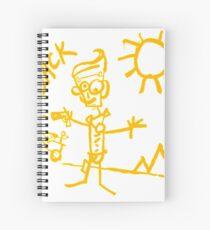 Doodle Jack - Borderlands Spiral Notebook