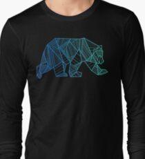 Geometric Bear - 928apparel.com Long Sleeve T-Shirt