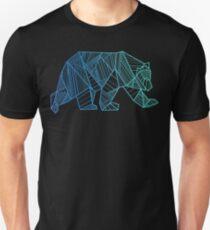 Geometric Bear T Shirt  - Geometrical Bear Shirt - Camping and Hiking Shirt - Mountains T-Shirt - Wilderness Outdoors Shirt Unisex T-Shirt